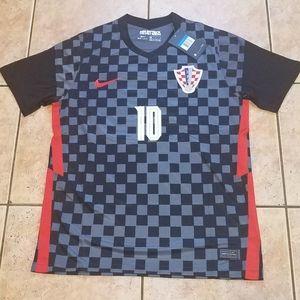 1 Left Nike Croatia Modrić Jersey